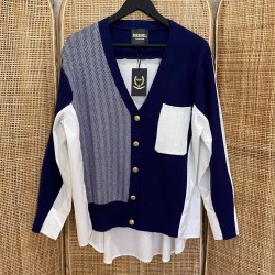 Pull chemise Constance Marine