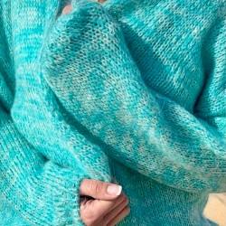 Gilet Multi Turquoise