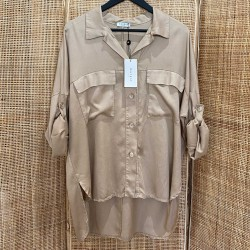 Chemise Tencell beige