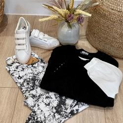 Jean Tie & Dye Noir