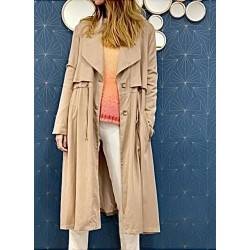 Trench Yocell beige