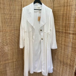 Trench Yocell blanc